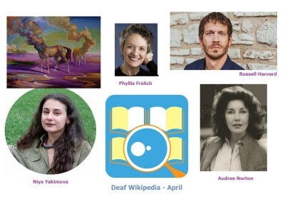 Deaf Wikipedia – April